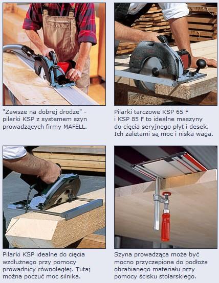 pilarka tarczowa mafell ksp 65 f maszyny stolarskie do obr bki drewna i metalu. Black Bedroom Furniture Sets. Home Design Ideas