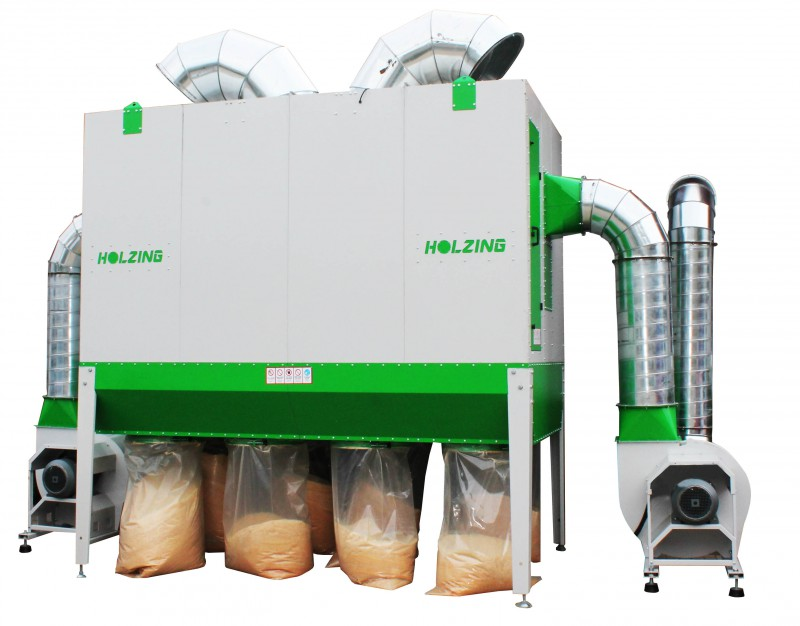 Odciąg do trocin RLA 500 VIBER Power 15000 m3/h